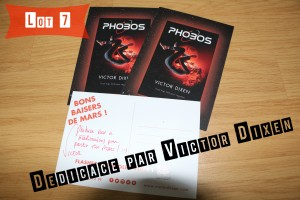 Cartes Phobos Lot 7