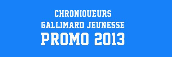 Promo 2013 Gallimard