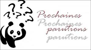 Prochaines parutions1