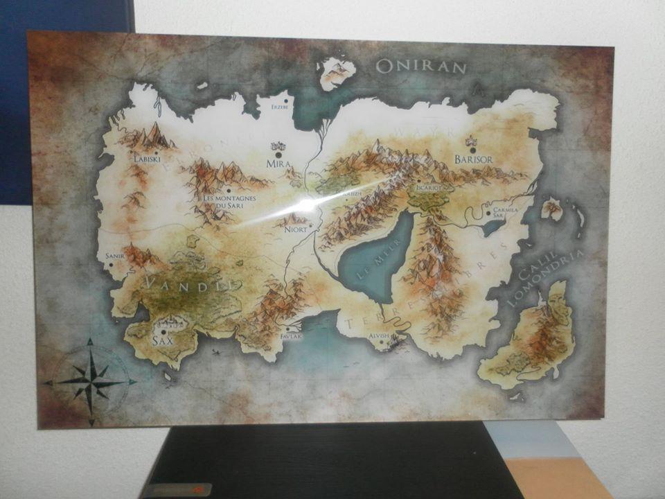 Carte jeux de pouvoir