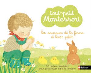 Tout-Petit Montessori-  cartes classifiées des animaux de la ferme et leurs petits